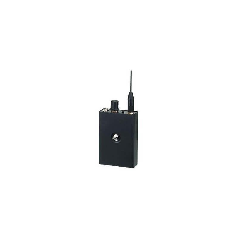 USEM-100M  Receptor 3 canales UHF de micrófonos