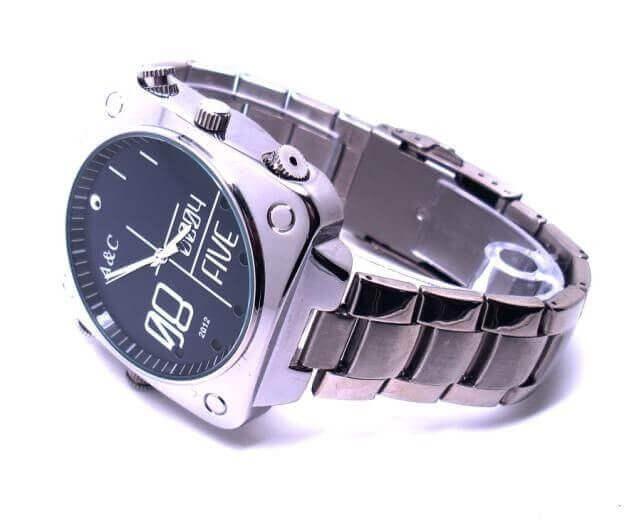 650b2559d0e Relógio espião FULL HD com IR e detecção de som SEM-15