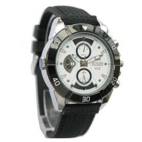 Relógio espião Alta Definição com bateria de Alta Capacidade Intercambiável