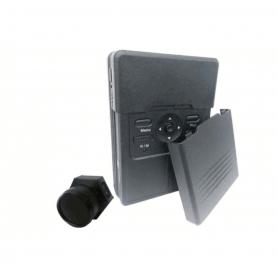 PV BX12 Caixa com câmera espiã 5MP Full HD A 60 FPS e PIR externo