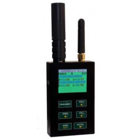 SEM 110-Detektor frequenzen