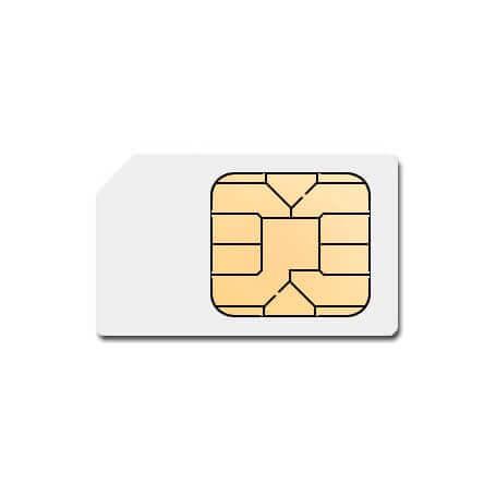 Tarjeta de datos SIM para GPS