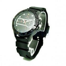 Relógio de marca SEM-27 HD 720p H264 com leds IR, não visíveis e tipo de LED lanterna