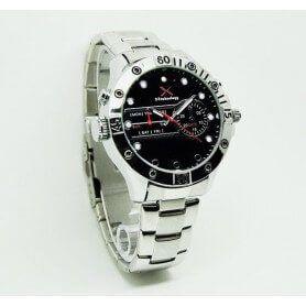 SEM-28 Horloge espion HD 720p H264 IR led n'est pas visible et lampe de poche LED