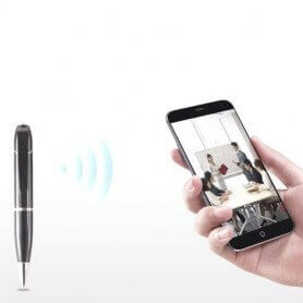 Boligrafo espia WIFI HD compatible con IOS y Android