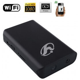 Camara espia WIFI Full HD en Power Bank con deteccion de movimiento