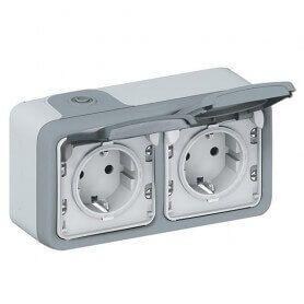 Câmera espiã em Full HD A 60 FPS no interruptor exterior