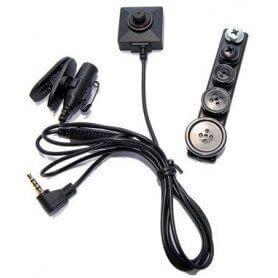 CM-BU18 Câmera escondida de botão 480 linhas