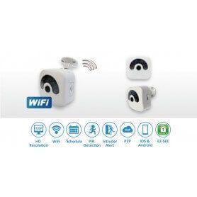 SEM-712W Camara WIFI P2P HD con IR