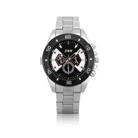 Relógio de marca 1080p com bateria substituível, visão noturna e detecção de movimento SEM-38
