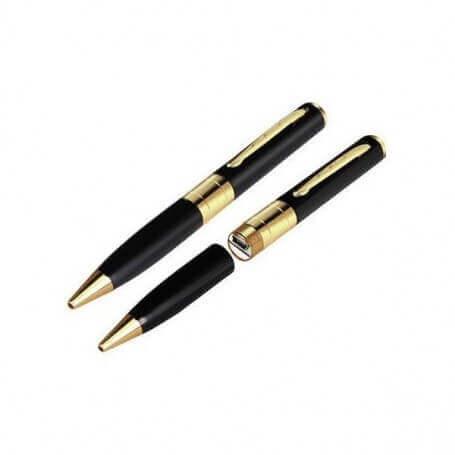 Boligrafo espiã com microfone integrado
