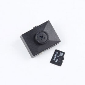 Mini spy camera button, Full HD 1080p with detection of movement
