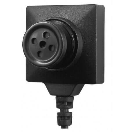 38c250c82 BU19 Micro câmera do espião botão 700TVL baixa luminosidade LawMate