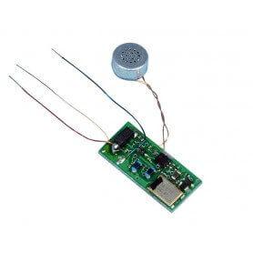 Mini microfono espia UHF de larga distancia SEM45CB