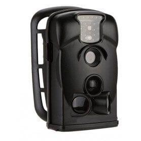 Câmera preta 12MP 720p HD 940nm com detecção de movimento