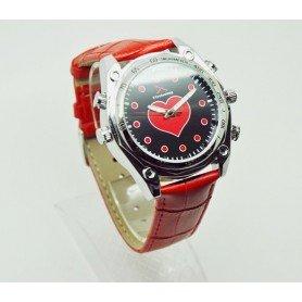 Relógio de marca para mulheres com IR Full HD 1080p com detecção de movimento SEM-39