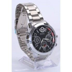 Spy watch wrist Super High Definition 2K 1296p h264 with detection of movement SEM-42