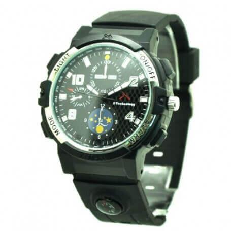 Reloj de pulsera espia WIFI HD 720p con detección de movimiento SEM-45