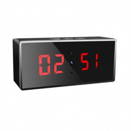 Reloj Espía 1080p Full HD WIFI gran angular 140º WIFI con visión noctura y deteccion de movimiento SEM-31