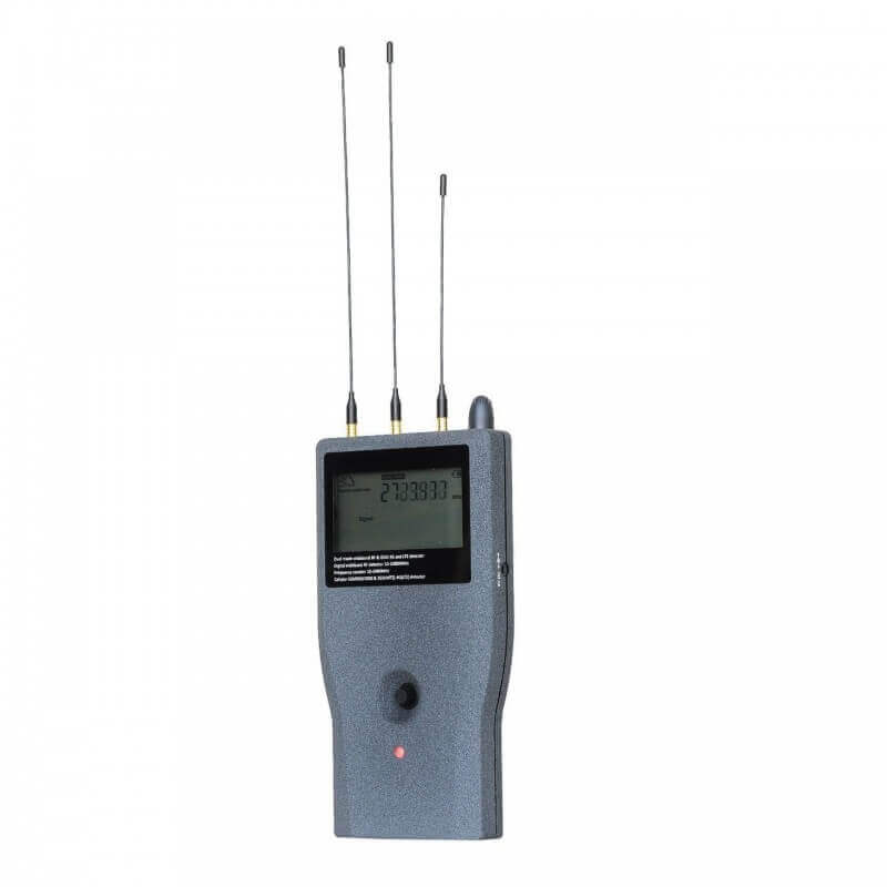 Detectar un localizador GPS con un contador de frecuencias digital