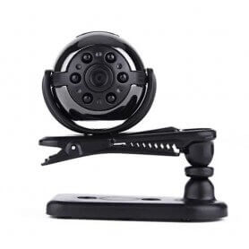 Mini Appareil-photo d'Espion de rotation Full HD à 360 degrés 1080p avec vision nocturne IR