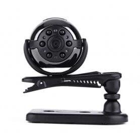 Mini Câmera Espiã rotativa Full HD 360º 1080p com visão noturna IR