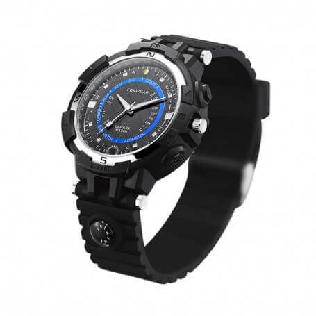 1d22876140a Relógio espião WIFI IP HD 720p com grande angular e tipo de LED lanterna