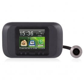 Peephole digital recording and LCD display