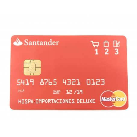 Grabadora de voz oculta en tarjeta de credito