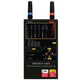 Protect 1207i Detector frequencies professional portable