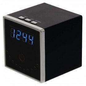 Relógio espião de mesa grande ao vivo WIFI HD com visão noturna
