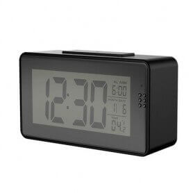 Alarm clock wireless WIFI night vision with thermometer