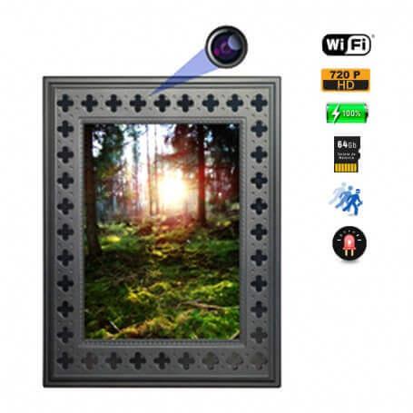 Cuadro Espia WIFI HD 720p con Vision Nocturna