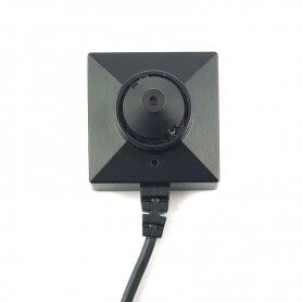 Mini caméra cachée bouton cône de type 2 en faible lumière