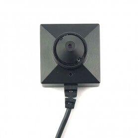 Mini câmera escondida de botão tipo cone 2MP baixa luminosidade