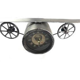Câmera espião personalizada no avião