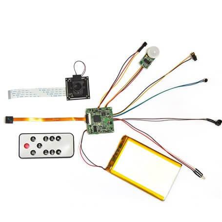 Módulo de grabación Full HD con PIR h264 60 FPS 128Gb