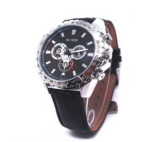 Relógio espião HD 720p H264 com detecção de movimento