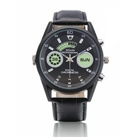 Watch with spy camera Full HD 1080p 32Gb and night Vision