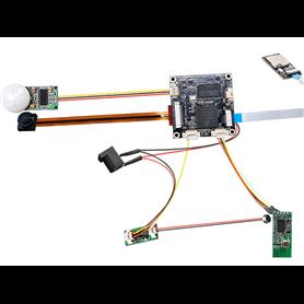 Módulo de grabación WIFI Full HD con PIR h264 para IOS y Android