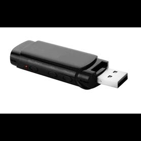 USB espião Full HD 1080p com visão noturna e detecção de movimento