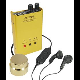 Microphone spy FL-1000 with burning Sun Mechatronics