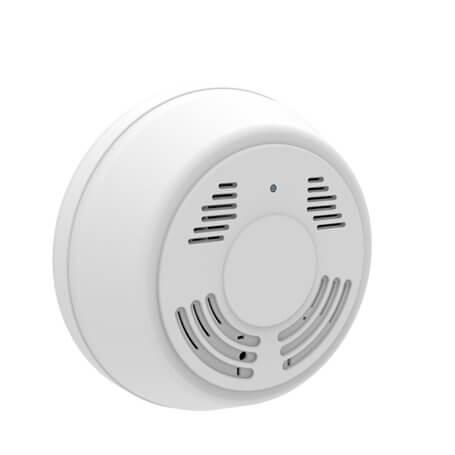 Smoke Detector With Spy Camera Live Image With Pir Sensor And