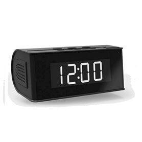 Horloge avec haut-Parleur Bluetooth Espion WIFI / IP de Vision Nocturne de 128 go