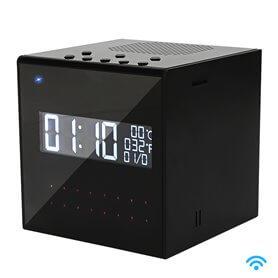 Reloj Despertador Espía Bluetooth WIFI IP con Visión Nocturna
