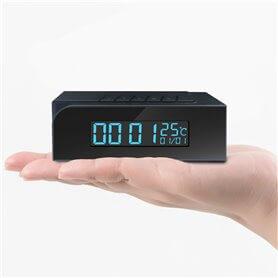 Alarm clock Spy Camera WIFI IP IR 128Gb