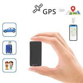 Mini Localizador GPS Portátil con Soporte Imantado
