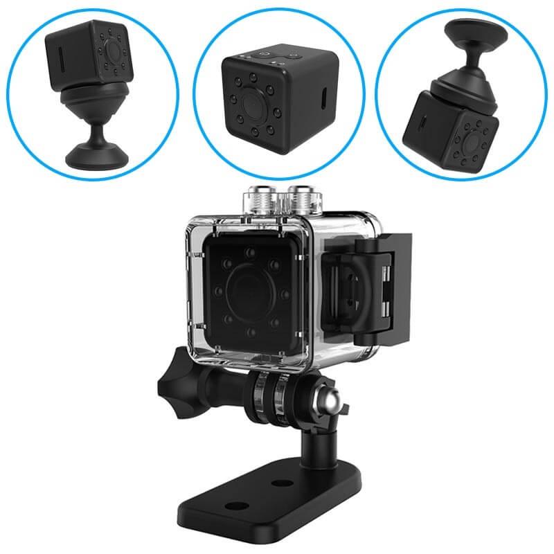 Micro cámara espía WiFi con visión nocturna