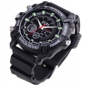 Reloj espía Full HD 1080P resistente al agua y visión nocturna SEM-15