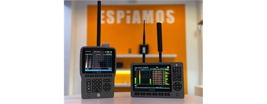 Detectores de frecuencias - ESPIAMOS